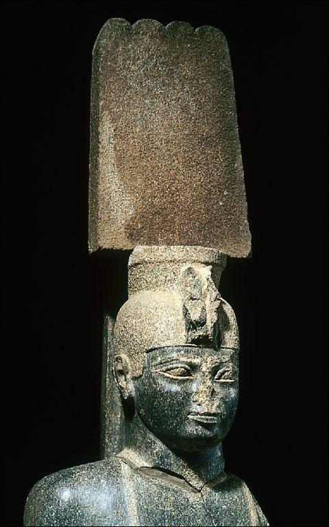 Colossal statue of King Aspelta