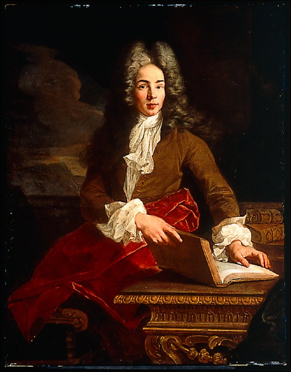Portrait of a Man with an Open Book