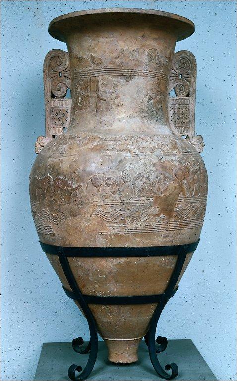 Funerary amphora