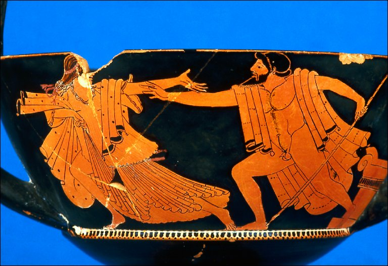 Kantharos with Zeus in pursuit