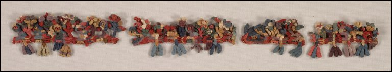 Border Fragment with Birds and Flowers