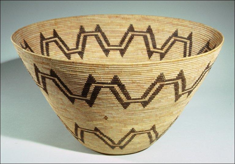 Twined basket