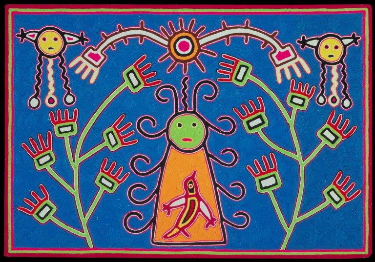 Tatei-Urianaka, Goddess Of The Earth