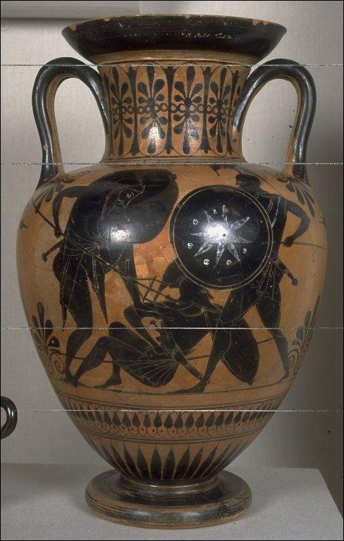 Black-Figure Neck Amphora