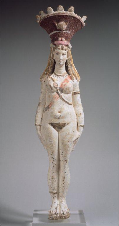Terracotta Figure of Isis-Aphrodite