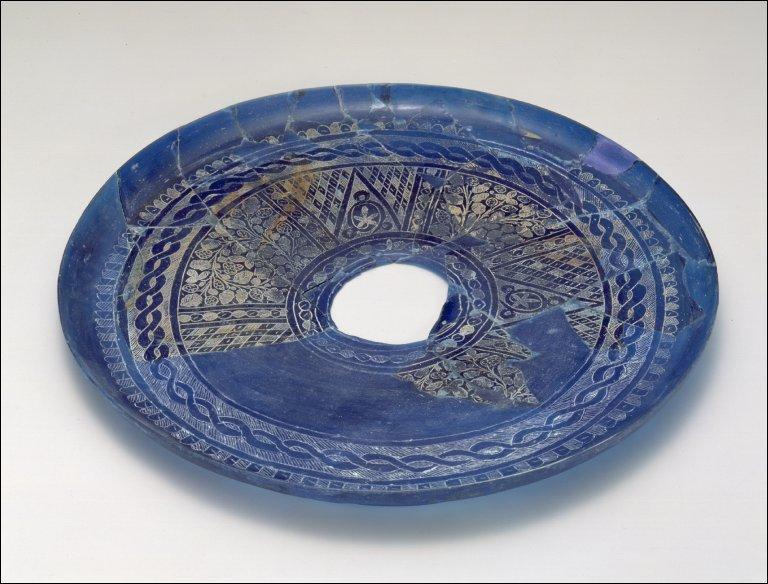 Fragmentary plate