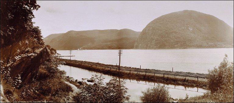 Entrance to the Highlands, Hudson River