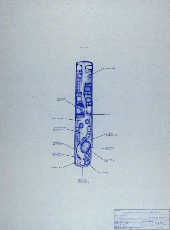 Cross-section of Hugh Hefner's Digestive System