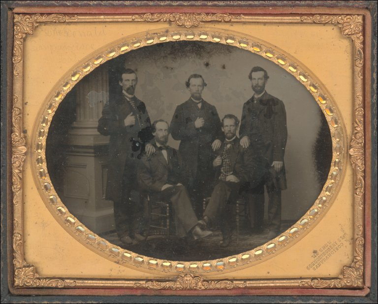 Untitled (Group of Prominent Gentlemen)