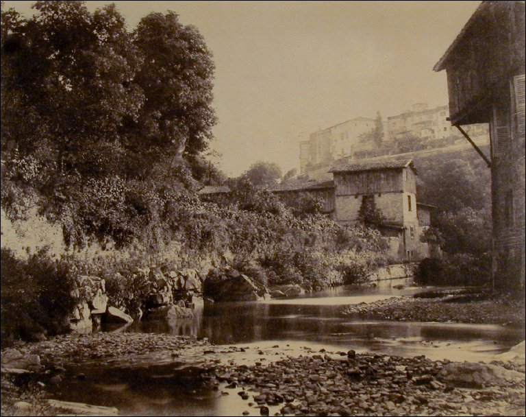 Landscape with Medieval Village