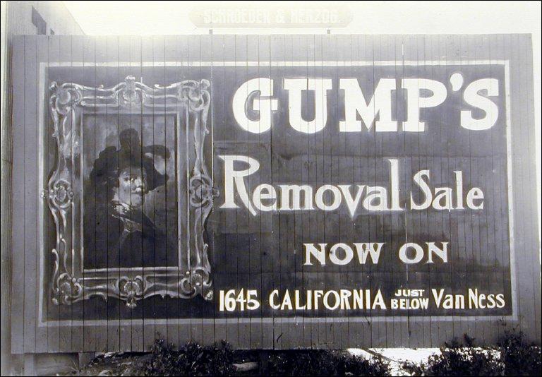 Gumps Billboard