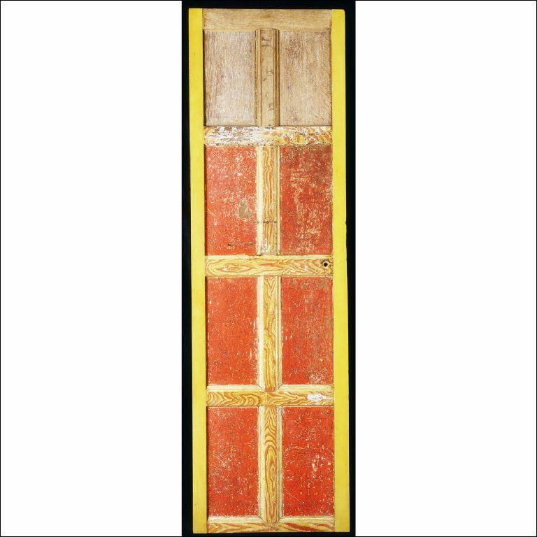 PANELLING, later made into a door