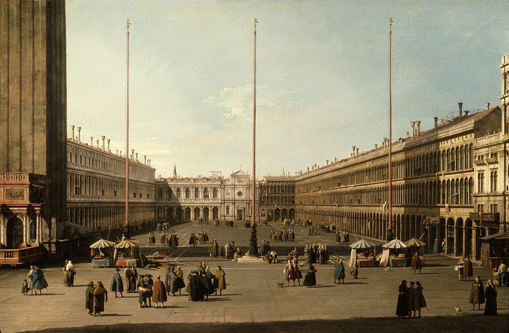 The Piazza San Marco, Venice