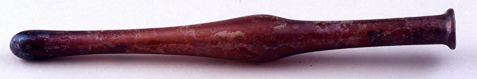 Unguentarium purplish; thin