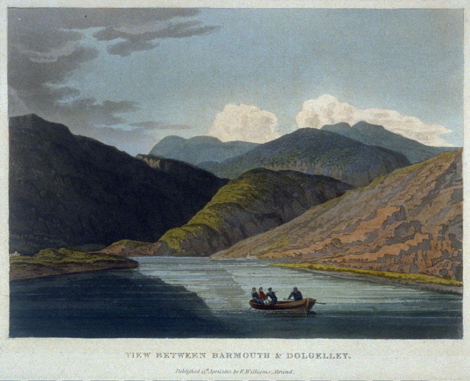 View between Bartmouth and Dolgelley