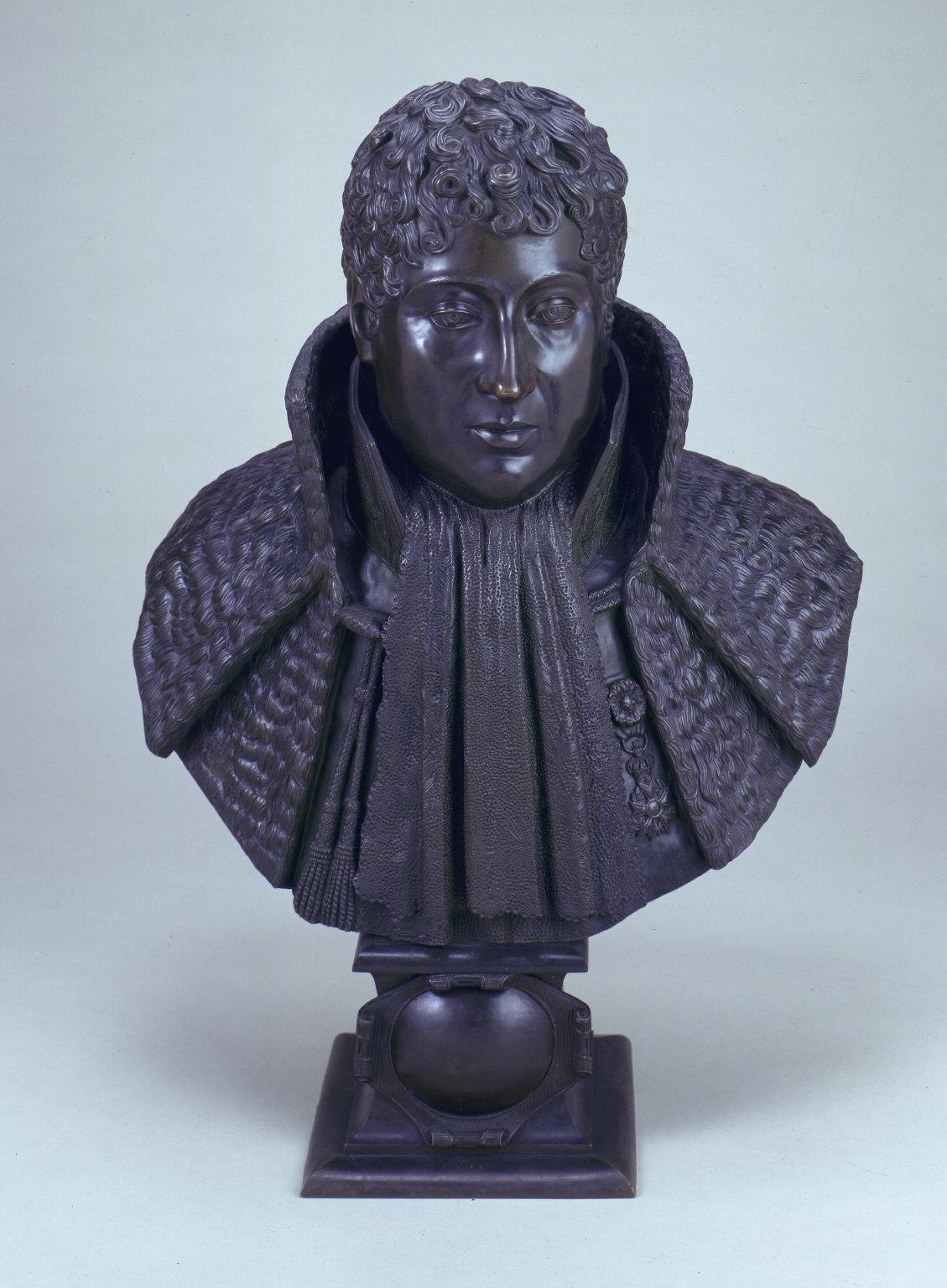 Portrait bust of Le Marquis D'Aligre
