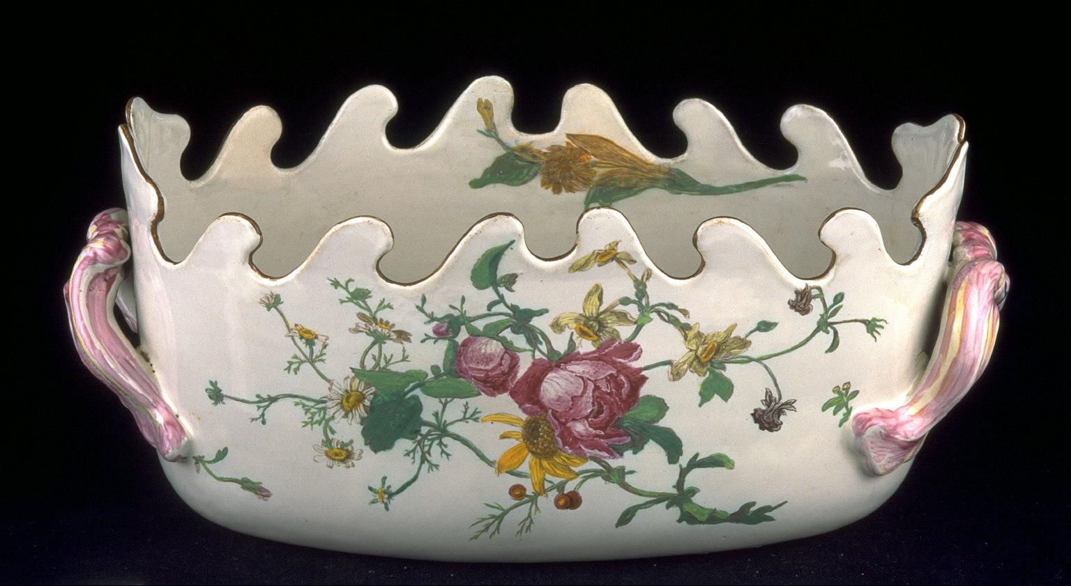 Verrier (deep bowl with handles)