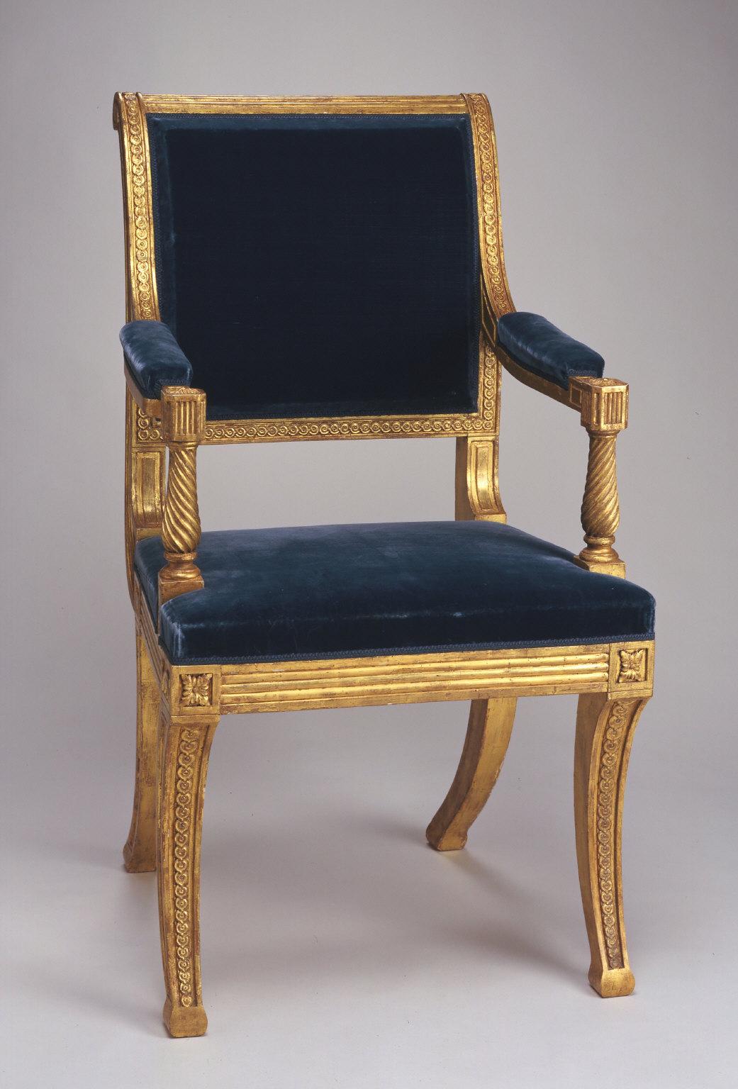 Ceremonial armchair