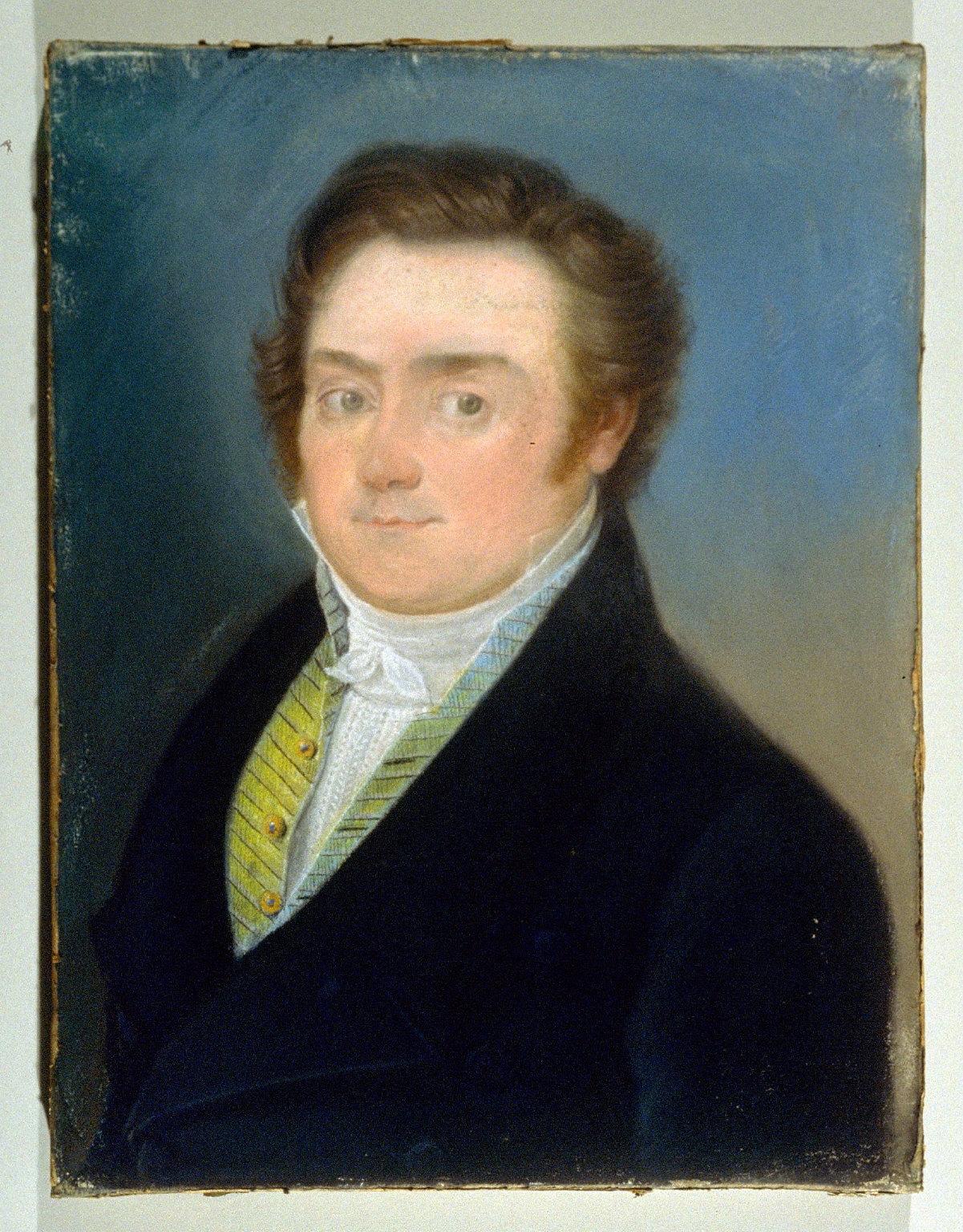 Portrait of Dr. Lewis Hoeffer (d. 30 Aug. 1849)