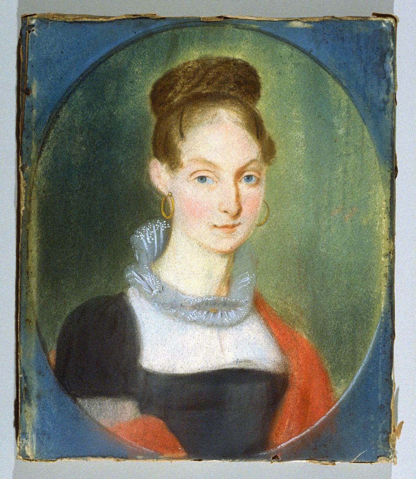 Portrait of Mrs. Susanna Hoeffer (d. 29 Feb. 1860)