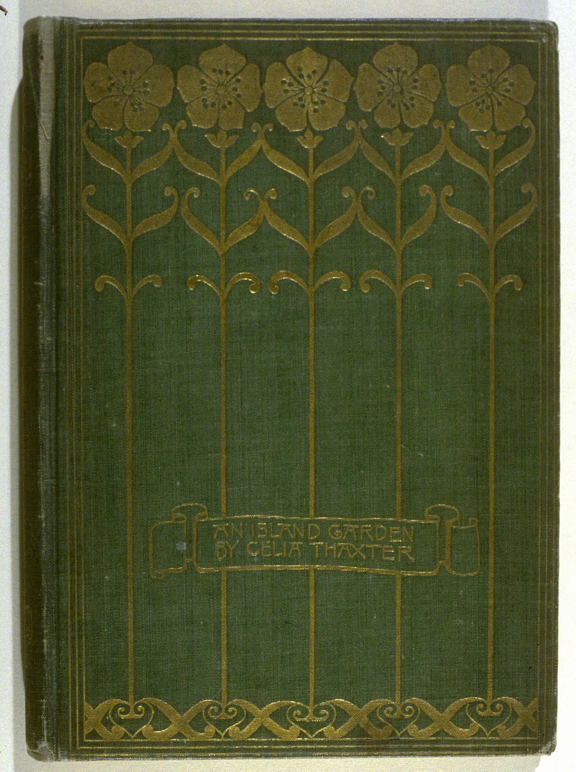 An Island Garden, a book by Celia Thaxter with pictures and illuminations by Childe Hassam