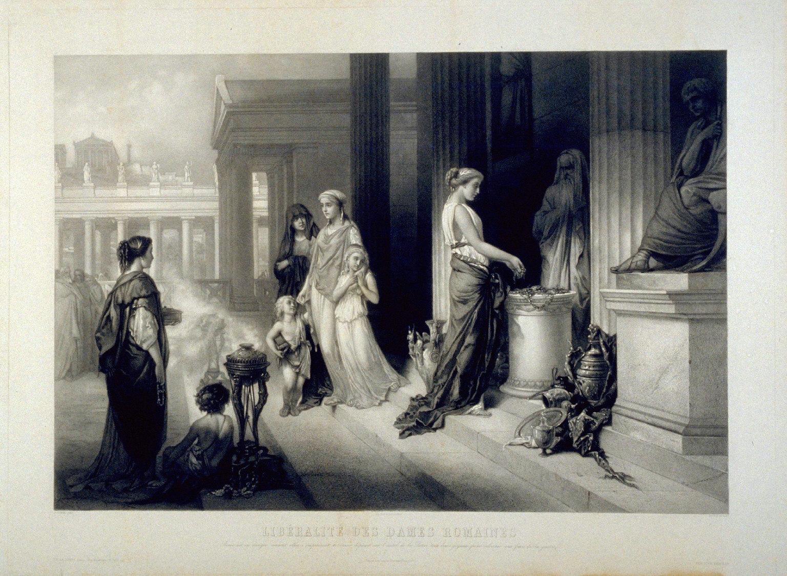 Liberalite Des Dames Romains