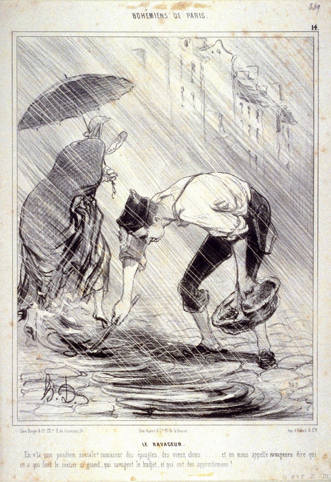 LE RAVAGEUR, no. 14 from the series BOH?MIENS DE PARIS