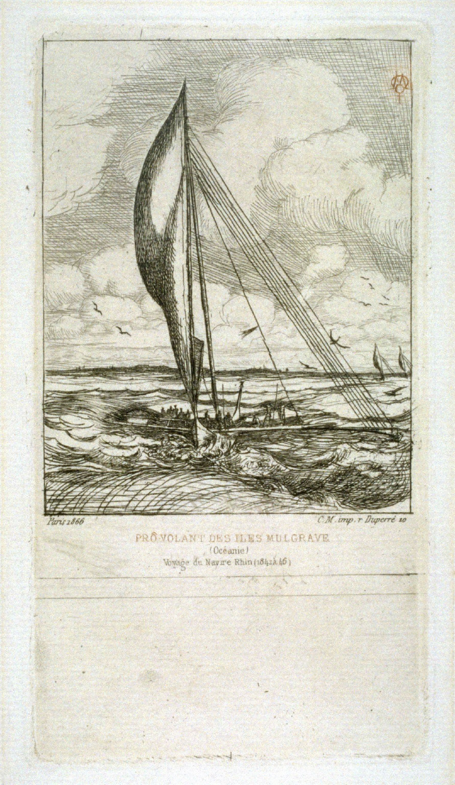 Prô-Volant des Iles Mulgrave (Océanie)