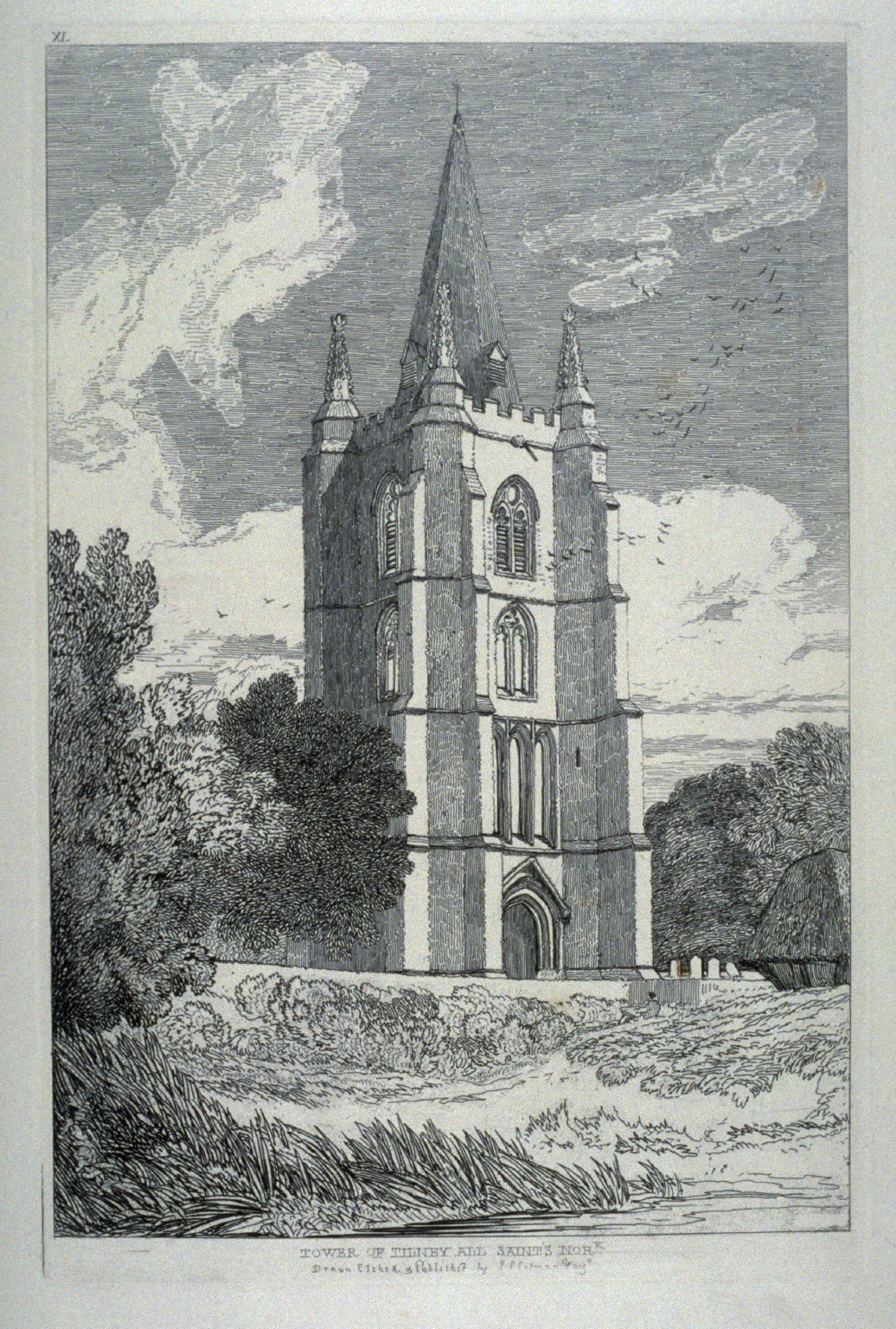 Tower of Tilney All Saints Norfolk