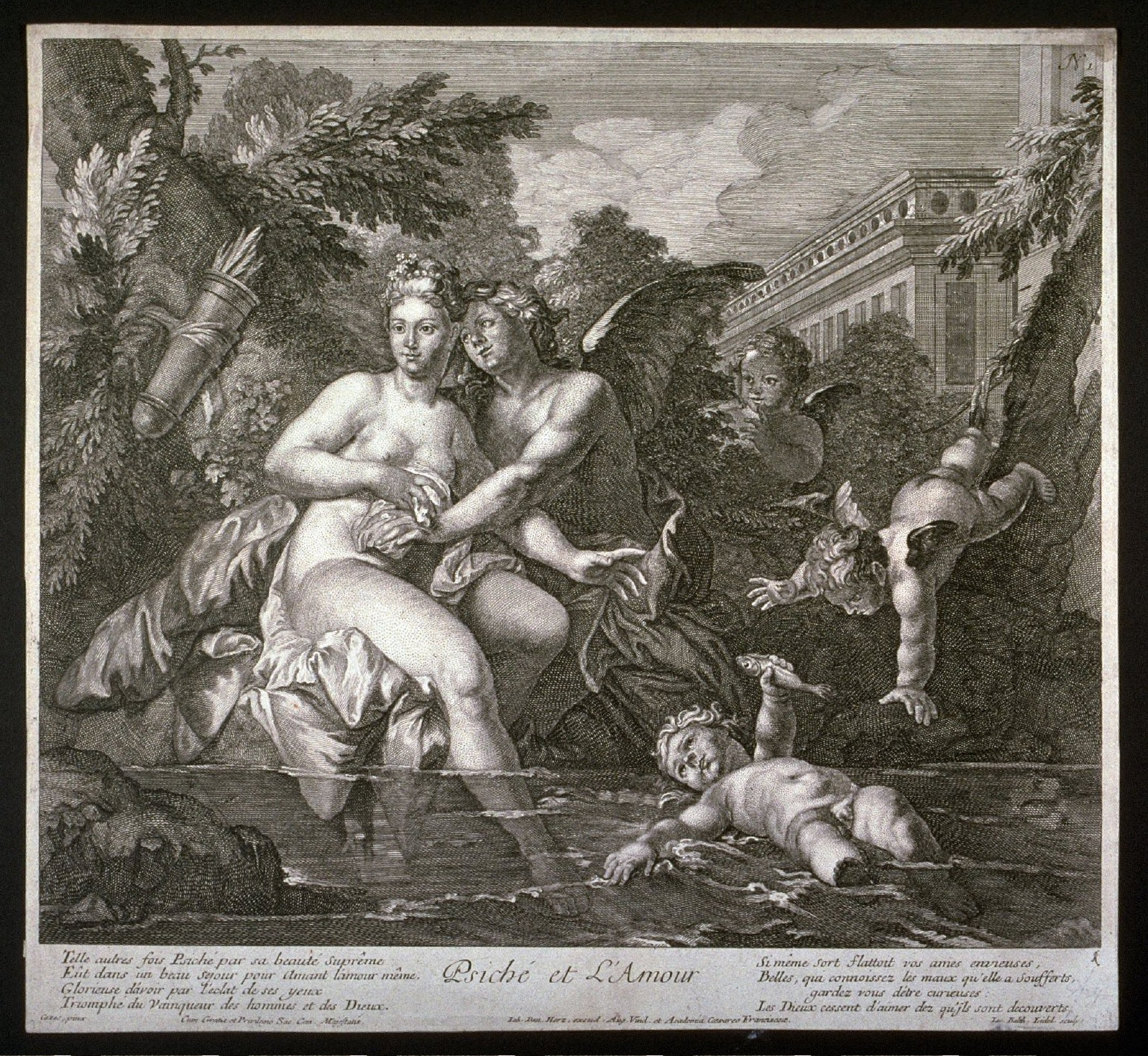 Psyche and Amor