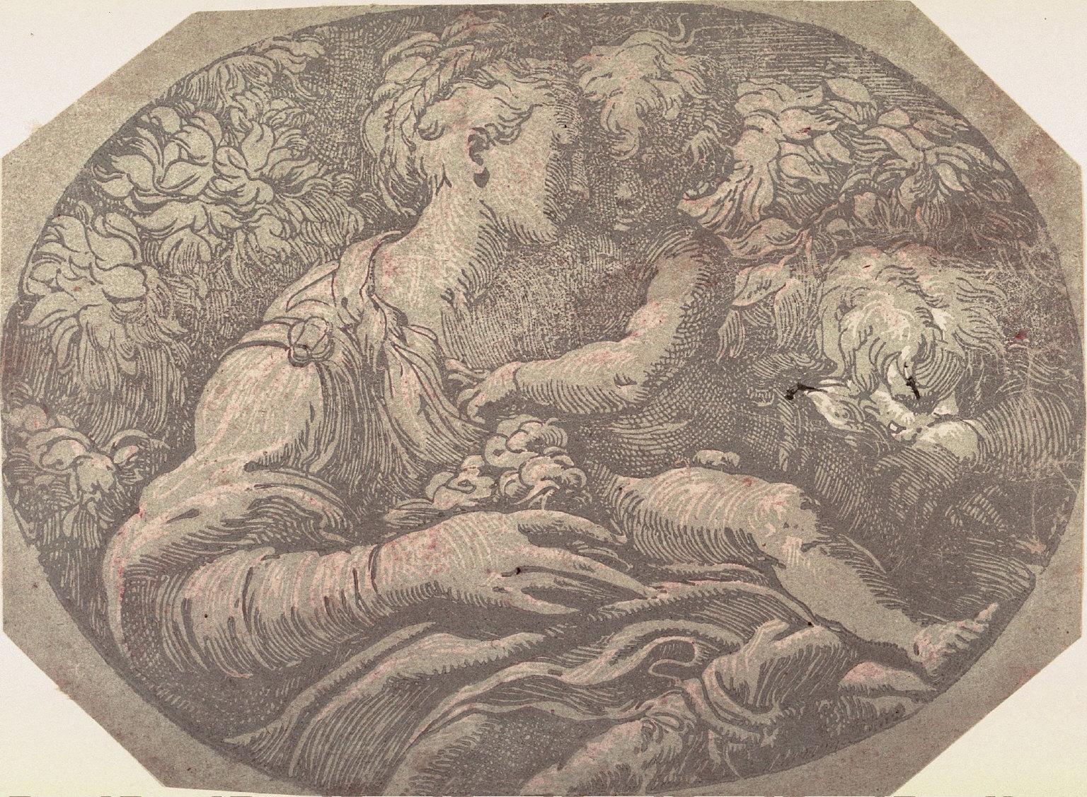 Madonna and Child, after Parmigianino