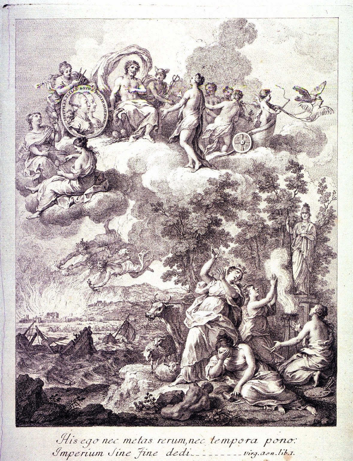 A Sacrifice to Athena, after G. Zocchi