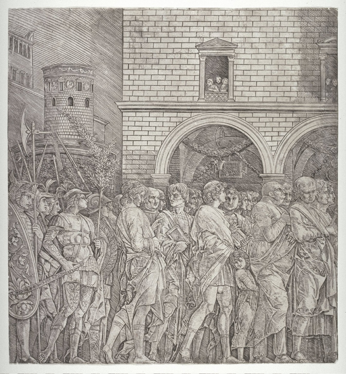 Roman Senators, after a design for an unexecuted (tenth) canvas for the series The Triumphs of Caesar for the Palazzo Ducale of Mantua