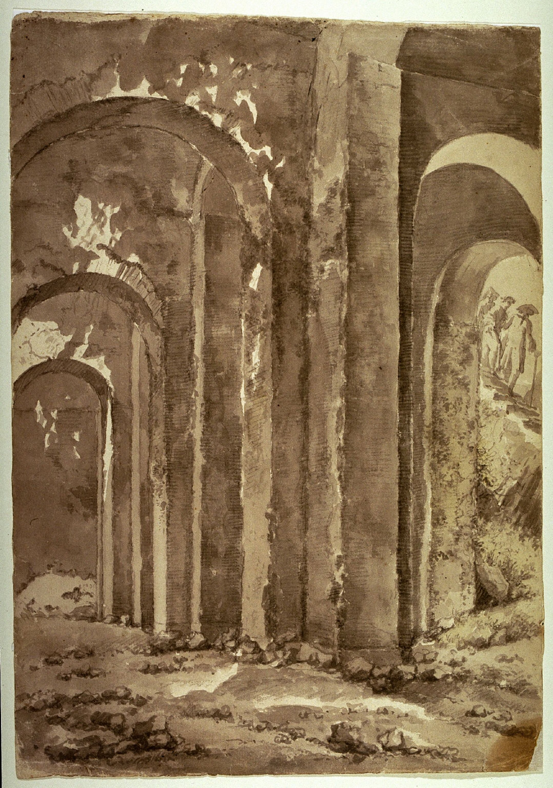 Ruins near Naples