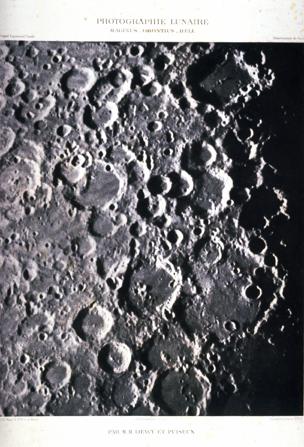 Surface of the Moon: Maginus, Orontius, Hell