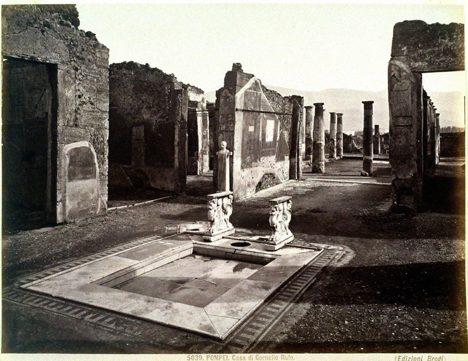 5039 Pompei, Casa di Cornelio Rufo