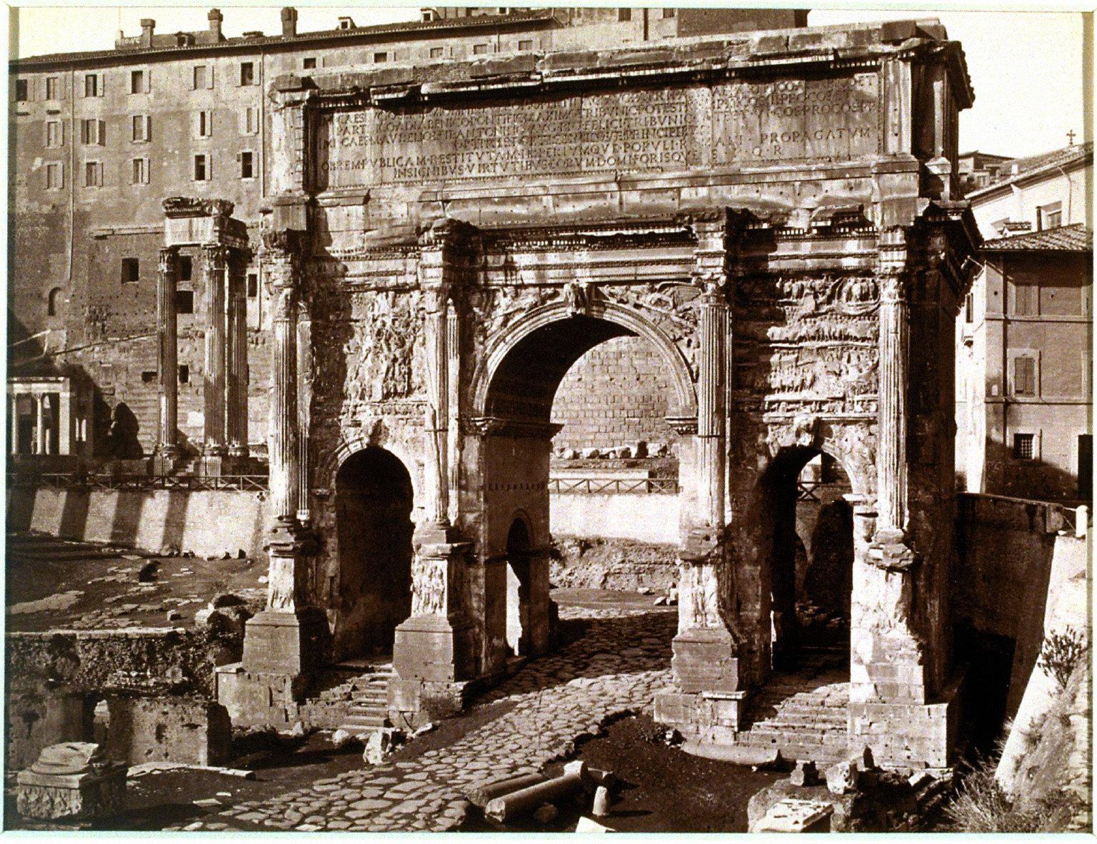 3646 Roma, Arco di Settimio Severo