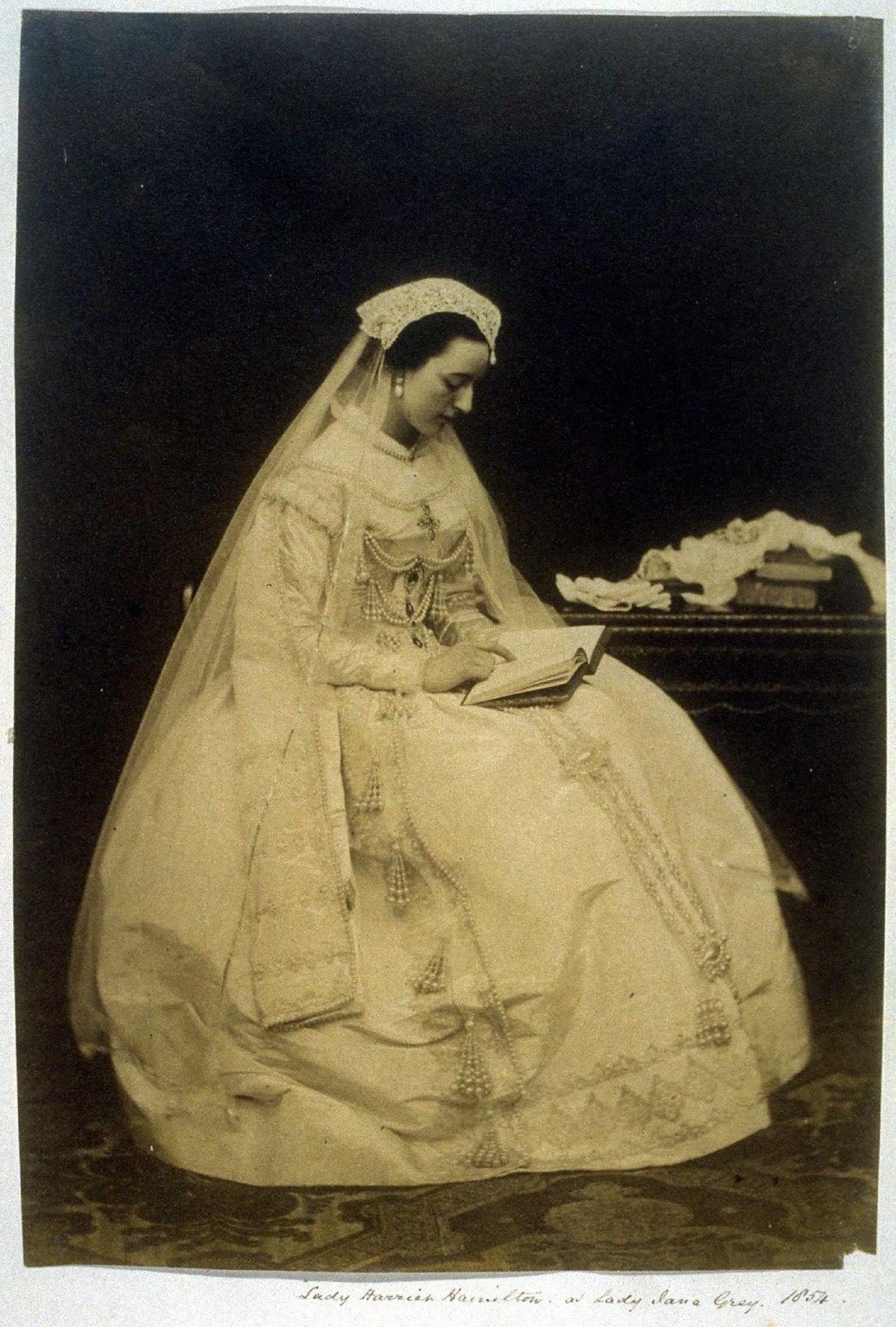 Lady Harriet Hamilton as Lady Jane Grey