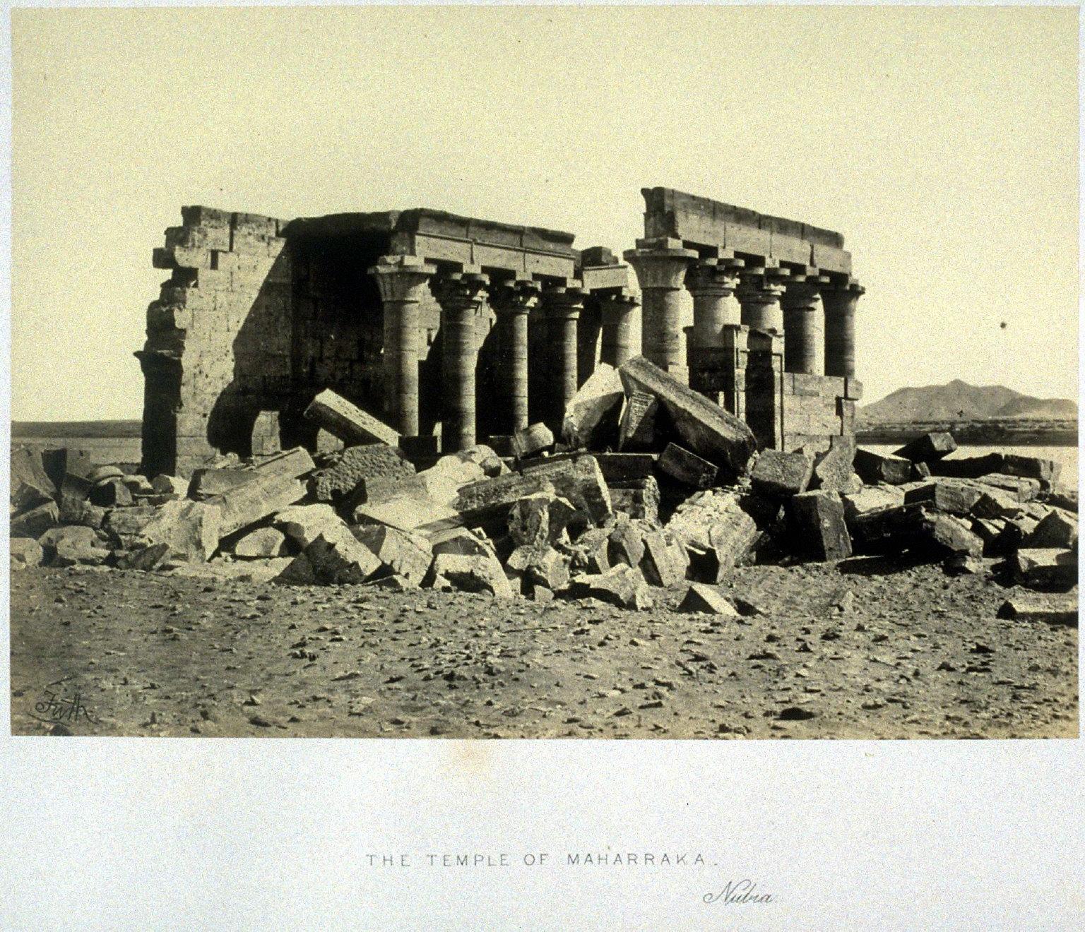 Temple of Maharraka, Nubia
