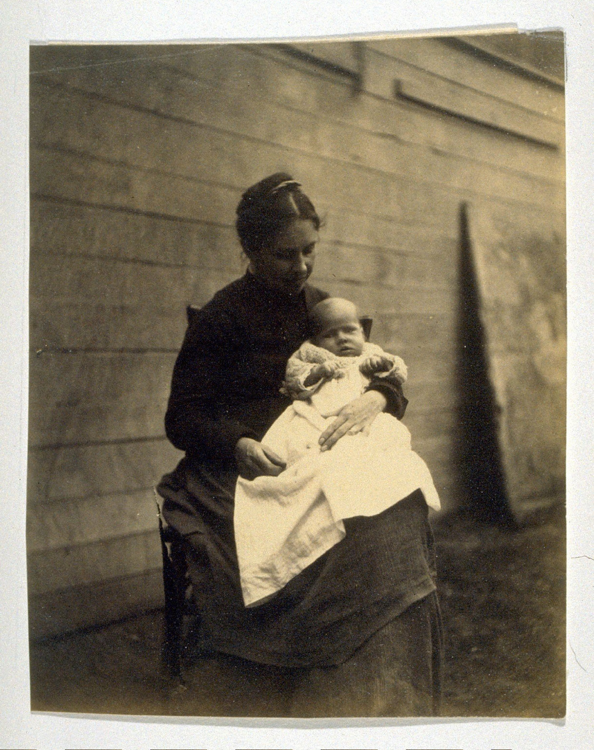 Frances Crowel and Her Child