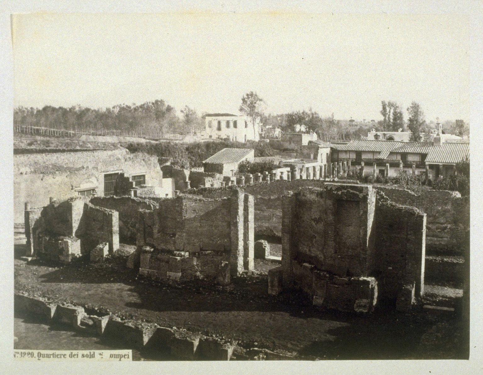 Soldiers' Quarters, Pompeii