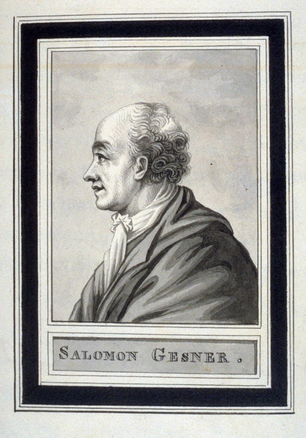 Salomon Gesner, page 202 of the book, Mon passe-tems dédié à moi-même , vol.2