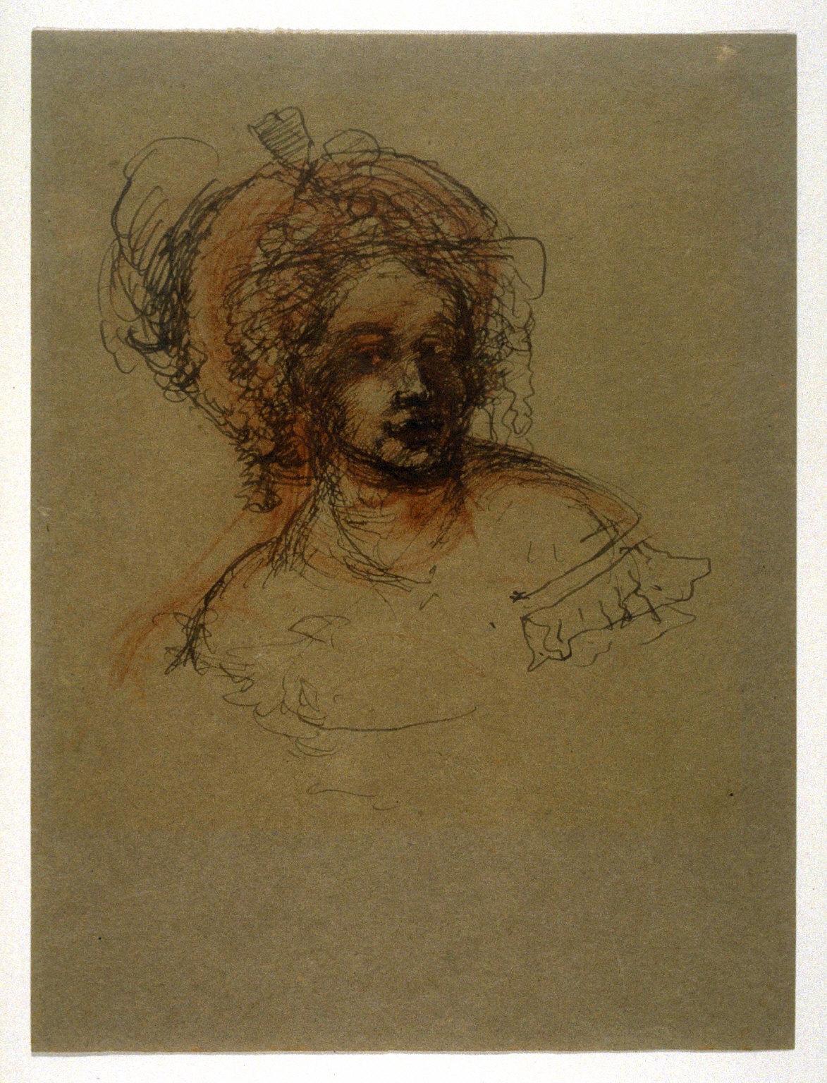 Woman in a Bonnet