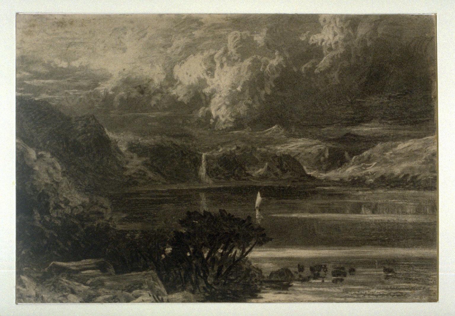 Untitled Landscape with Lake
