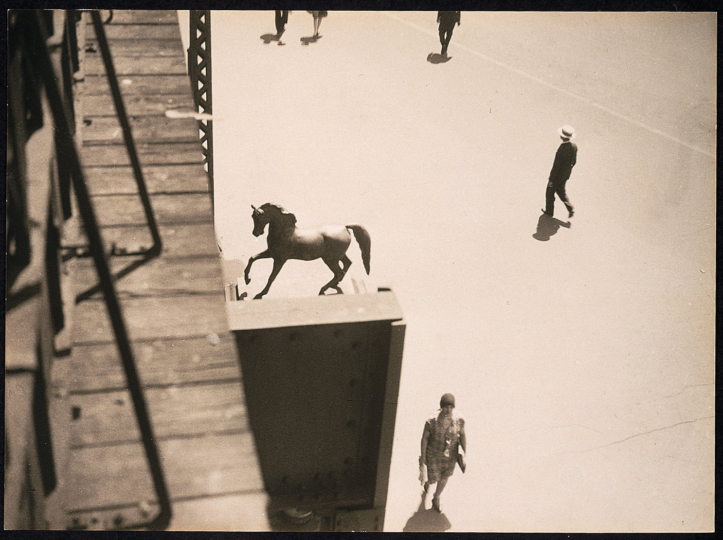 Horse in Lincoln Square
