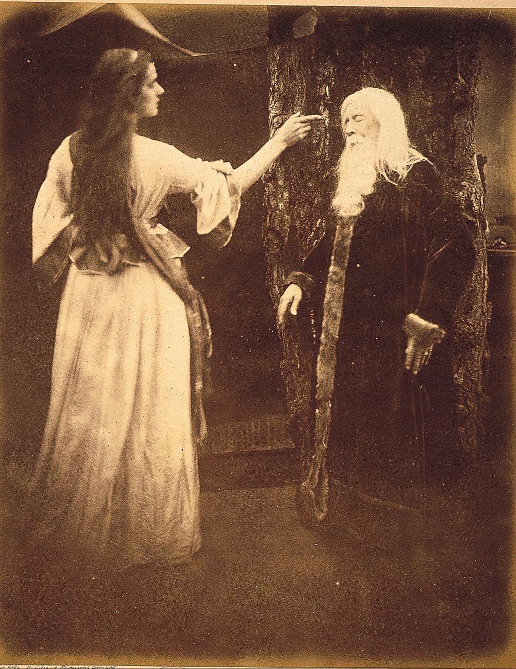 Vivien and Merlin