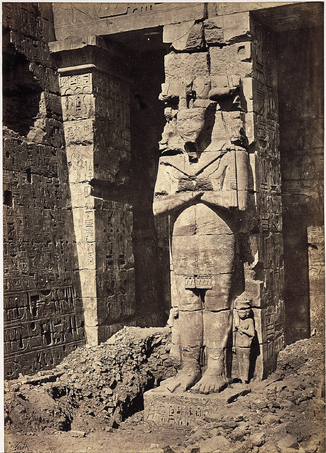 Egyptian Idol at Thebes