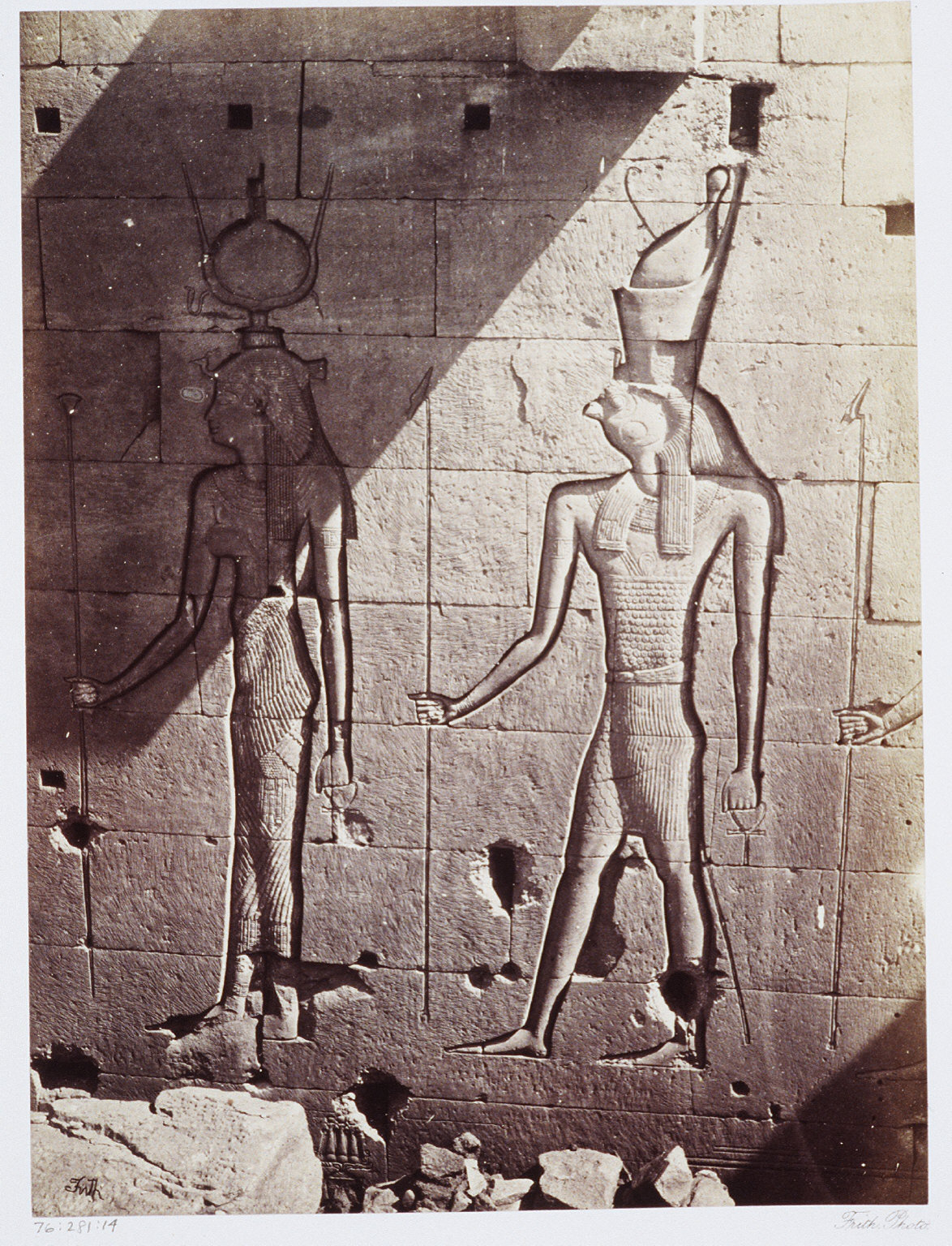 Colossal Sculptures at Philae