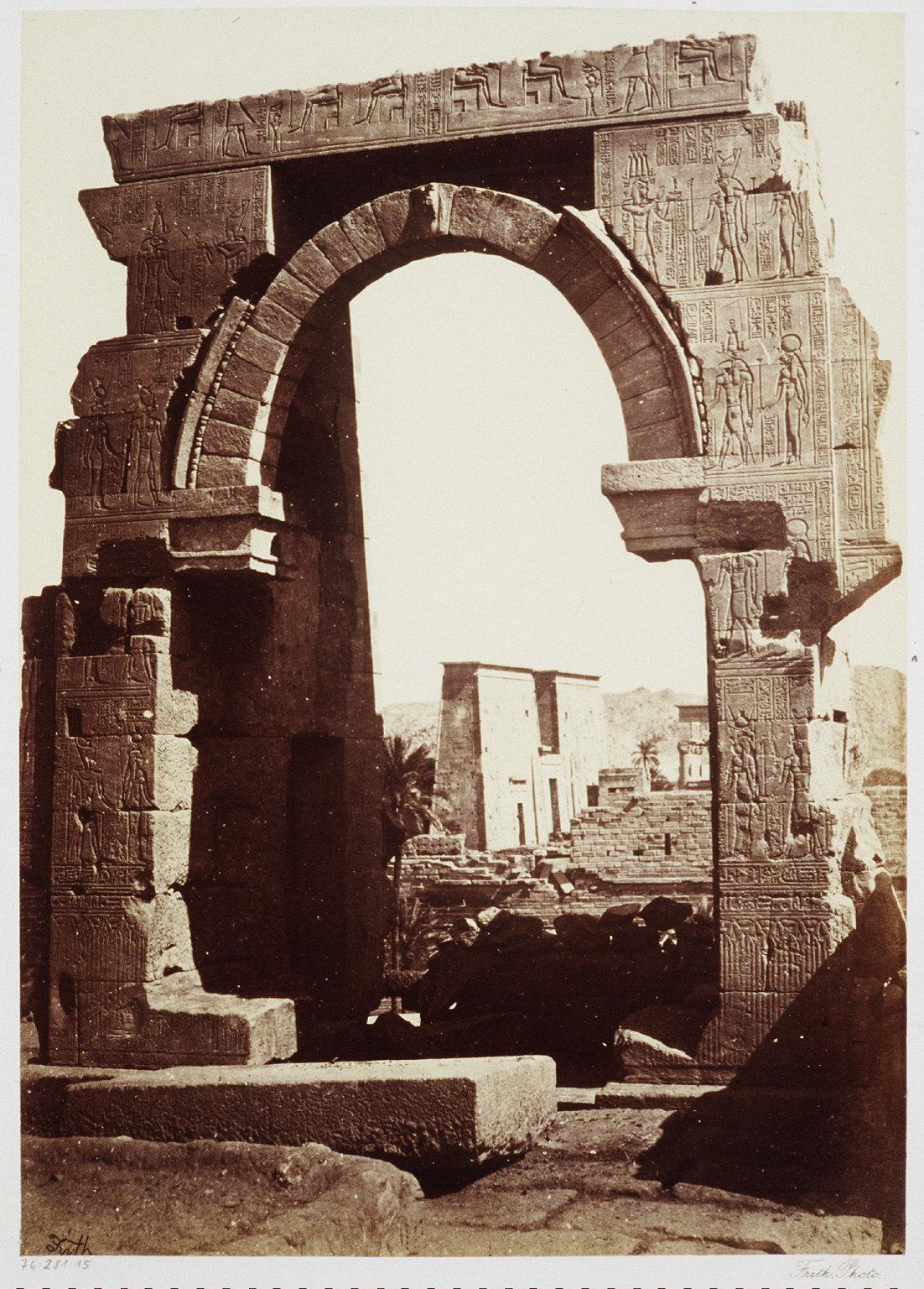 Roman Arch on the Island of Biggeh, Nubia
