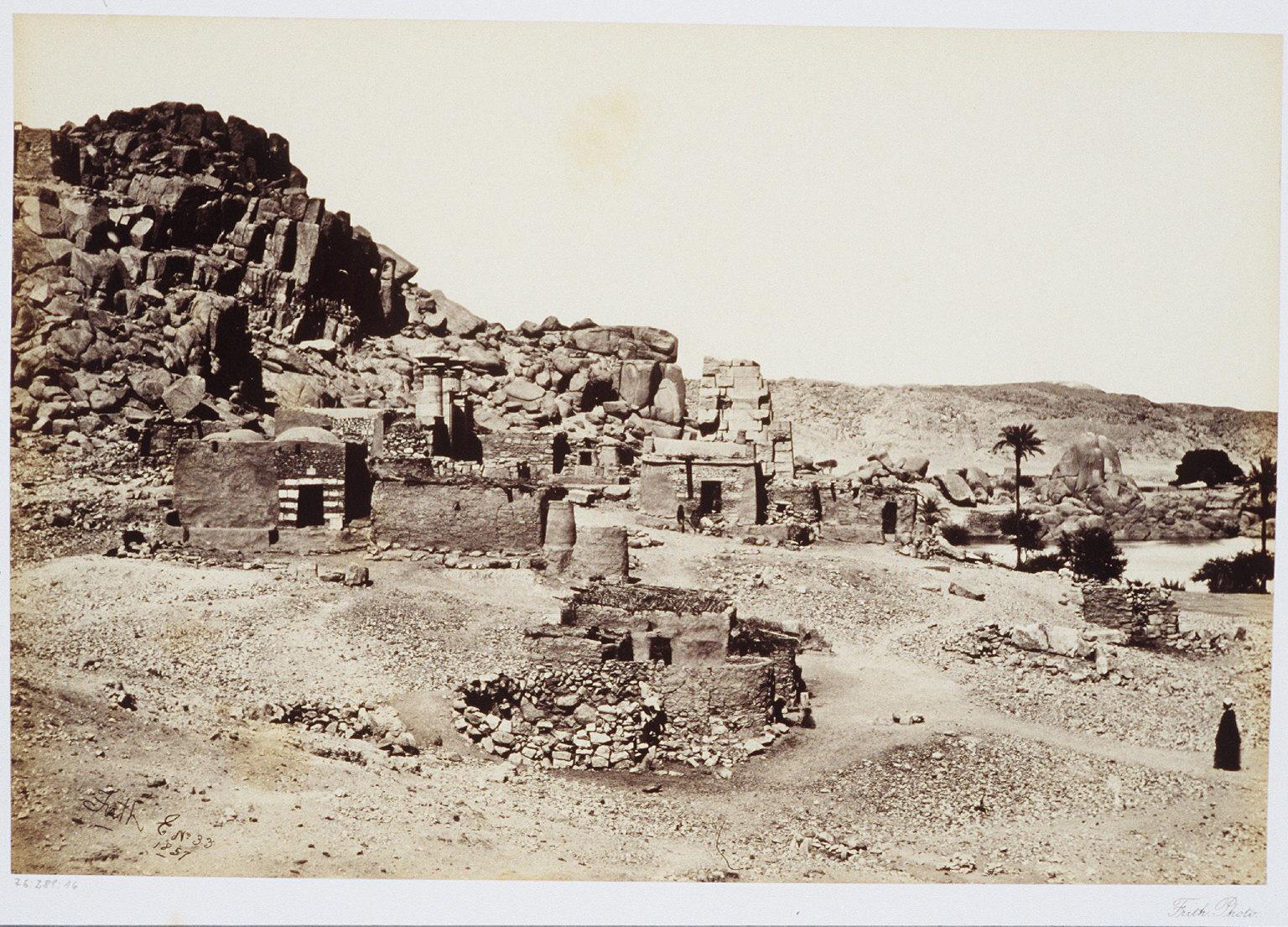 Antiquities at Biggeh- Opposite Philae